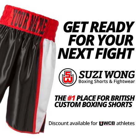 Suzi Wong Sponsor of Ultra MMA