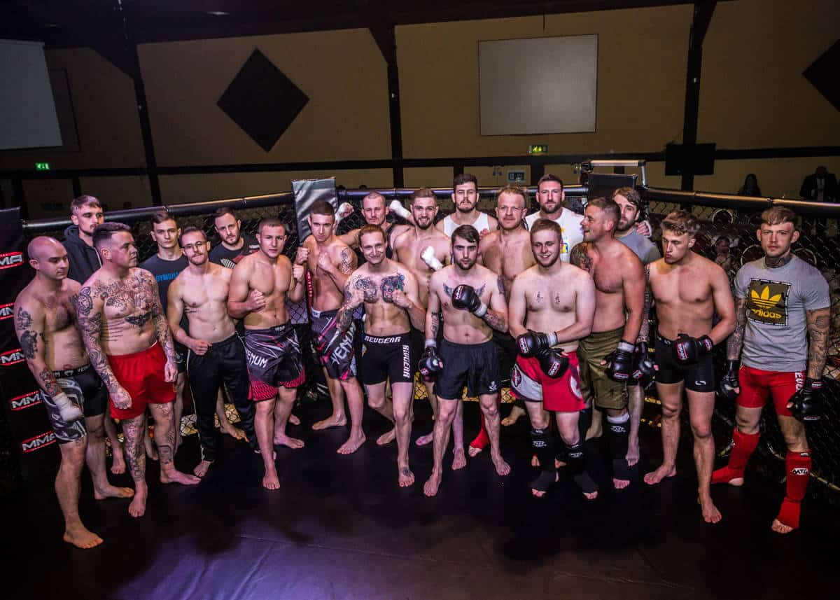 Ultra MMA Participants taking part in a spectacular event