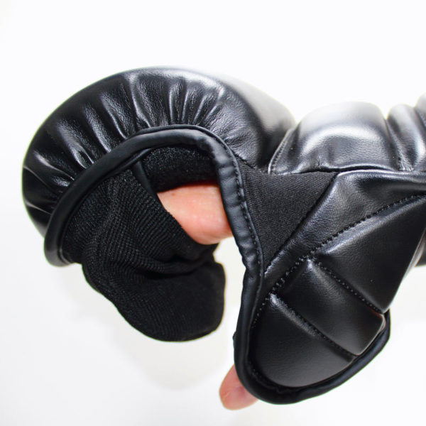 ultra mma gloves side