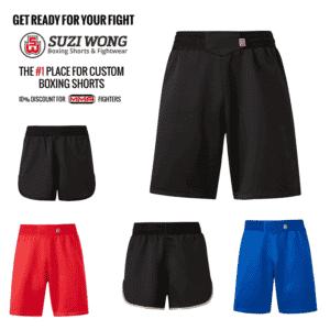 Suzi Wong Ultra MMA Shorts